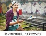 graffiti street art culture... | Shutterstock . vector #451999249