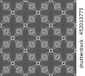 engraving seamless pattern.... | Shutterstock .eps vector #452013775