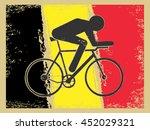 vector cycling illustration  ... | Shutterstock .eps vector #452029321