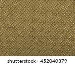 diamond steel metal sheet...   Shutterstock . vector #452040379