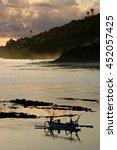 Bali Fishing Boat. Balinese...