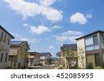 housing residential area image... | Shutterstock . vector #452085955