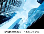 skyscrapers shot with... | Shutterstock . vector #452104141