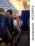 plane cabin | Shutterstock . vector #45210913