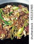 korea traditional cooking... | Shutterstock . vector #452151985
