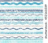 summer seamless wavy pattern....   Shutterstock .eps vector #452161039
