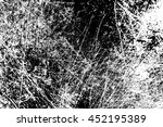 grunge black and white distress ... | Shutterstock . vector #452195389