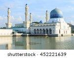 floating mosque in kota... | Shutterstock . vector #452221639