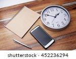 business still life.  | Shutterstock . vector #452236294