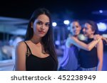 friends spending the night out | Shutterstock . vector #452238949