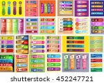 colorful modern text box... | Shutterstock .eps vector #452247721