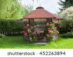 Outdoor Wooden Gazebo With...