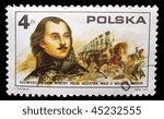 poland   circa 1975  a stamp... | Shutterstock . vector #45232555