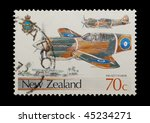 new zealand   circa 1987  mail... | Shutterstock . vector #45234271