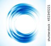 geometric frame  round frame ... | Shutterstock .eps vector #452345221
