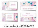 business card. vector... | Shutterstock .eps vector #452346625