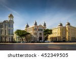 historical center of recife... | Shutterstock . vector #452349505