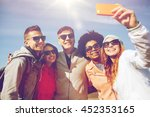 people  leisure  friendship and ... | Shutterstock . vector #452353165