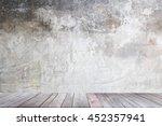 abstract empty interior...   Shutterstock . vector #452357941