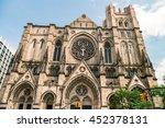 cathedral church  saint john...   Shutterstock . vector #452378131