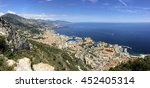 monaco view from the cap d'ail | Shutterstock . vector #452405314