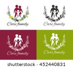 happy family concepts  father ... | Shutterstock .eps vector #452440831