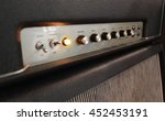 amplifier with control panel... | Shutterstock . vector #452453191