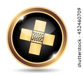 medical patch icon. internet... | Shutterstock . vector #452460709