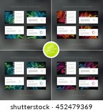 vector presentation design... | Shutterstock .eps vector #452479369