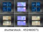 vector abstract brochure design ... | Shutterstock .eps vector #452483071
