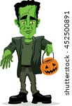Isolated Frankenstein Trick Or...