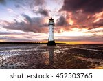 Perch Rock Lighthouse  In The...