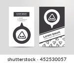 uneven road doodle   Shutterstock .eps vector #452530057