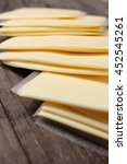 Small photo of Slices of american cheese