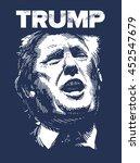 donald trump  republican... | Shutterstock .eps vector #452547679