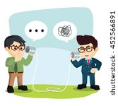 employers do not understand... | Shutterstock .eps vector #452566891