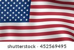 flag of united states of... | Shutterstock . vector #452569495