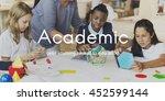 academic college degree... | Shutterstock . vector #452599144