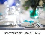 beautifully organized event  ... | Shutterstock . vector #452621689