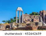 the ruins of the roman forum.... | Shutterstock . vector #452642659