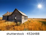 Old Wooden Home Abandoned In...