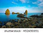 amazing riviera of the cyclops  ... | Shutterstock . vector #452650351