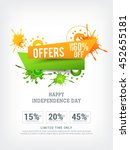 vector illustration sale banner ... | Shutterstock .eps vector #452655181