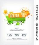 vector illustration sale banner ... | Shutterstock .eps vector #452655181