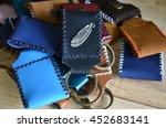 my product handmade key ring... | Shutterstock . vector #452683141