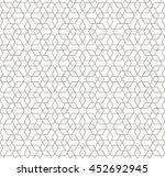 seamless islamic pattern. | Shutterstock .eps vector #452692945