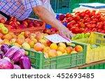 market in valldemossa  mallorca | Shutterstock . vector #452693485