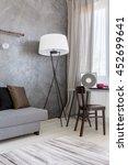 cropped shot of a modern living ... | Shutterstock . vector #452699641