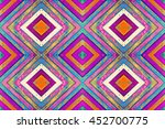 Patterned Collage Of Colored...