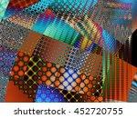 Fractal Digital Art Backgroun...